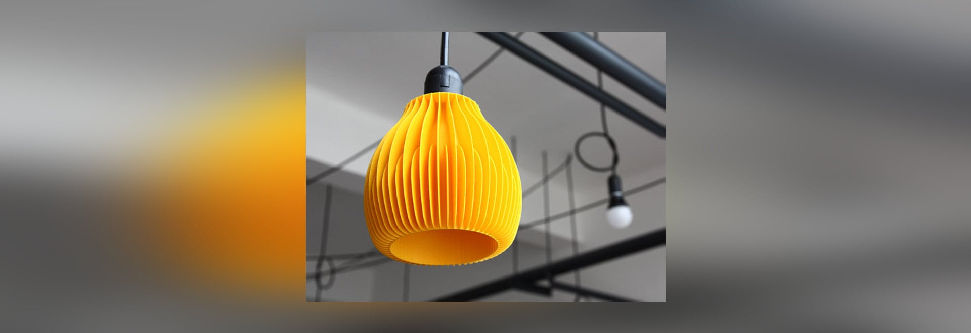 Ribone Lamp Shades by Martin Zampach