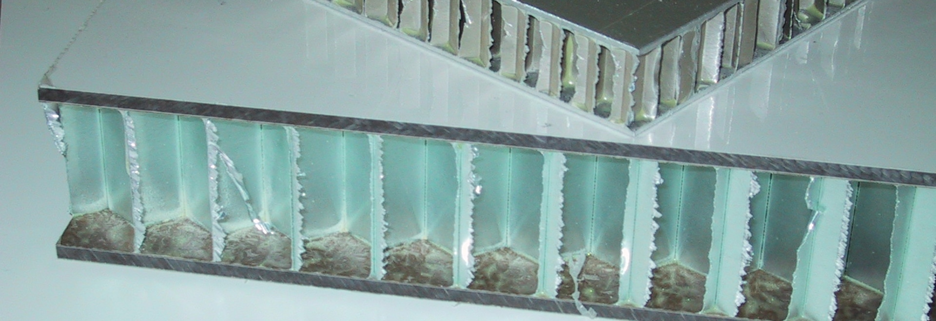 Sandwich panel COMPOCEL AL
