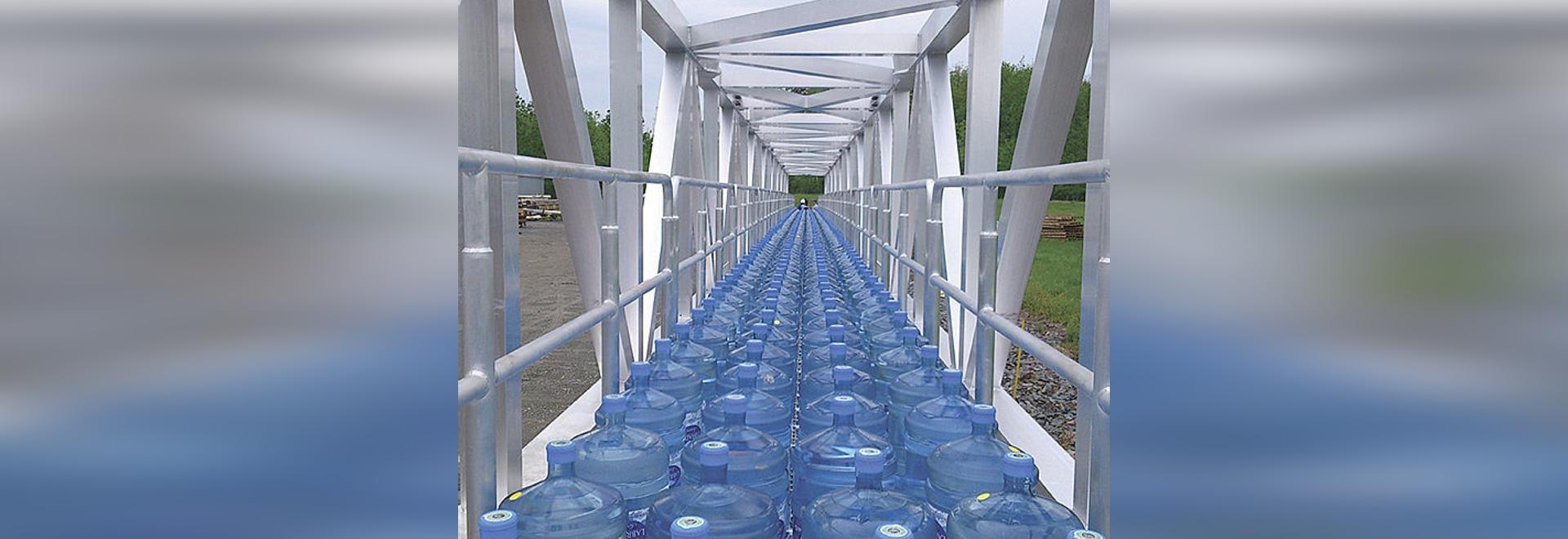 Service Bridge Completes Successful 8-Ton Load Testing
