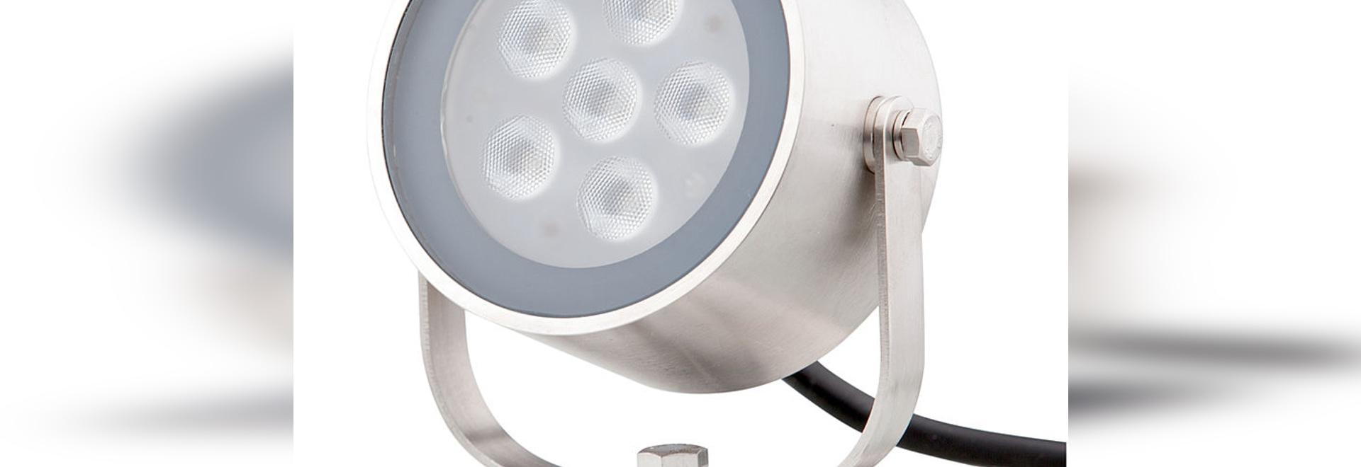 SHARK 6 adjustable spotlight