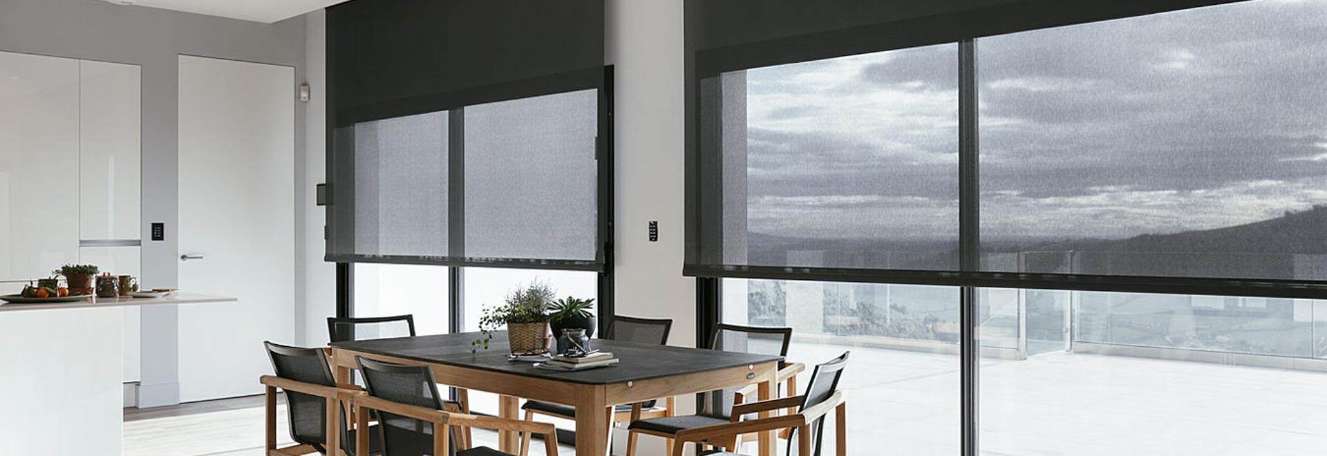 Soltis 88 Screens: a perfect combination of thermal protection and visual comfort