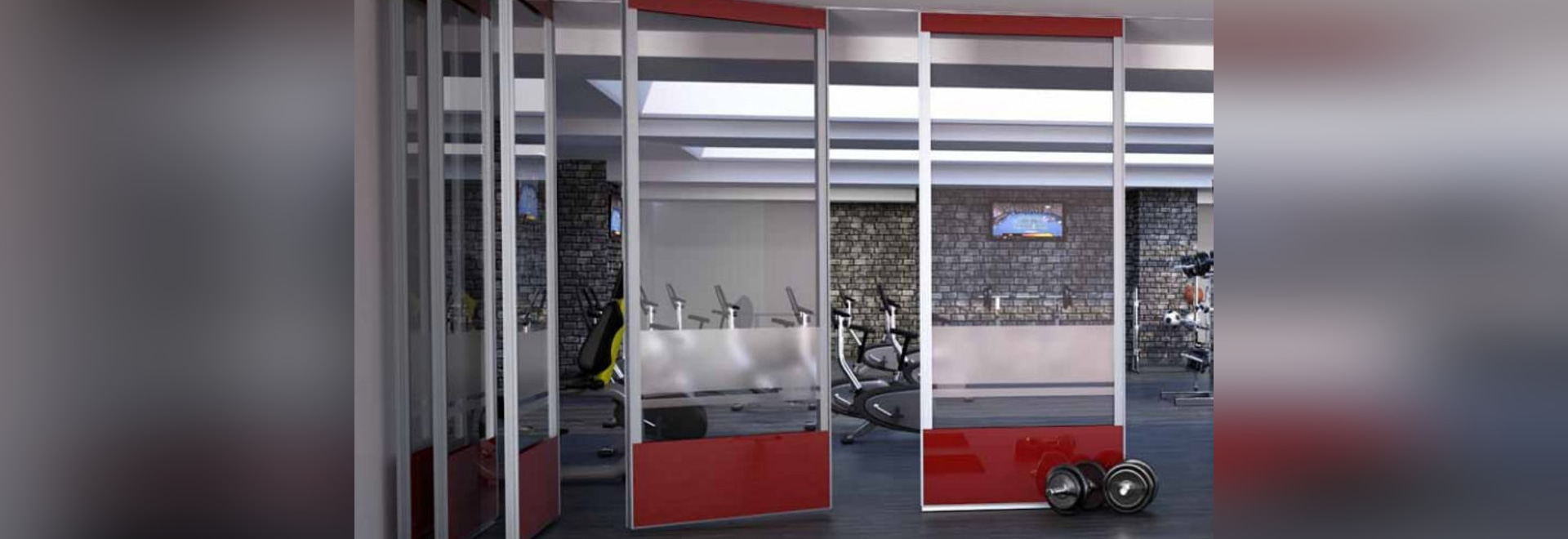 Spotlight Rolling Wall: More office space with moving partition
