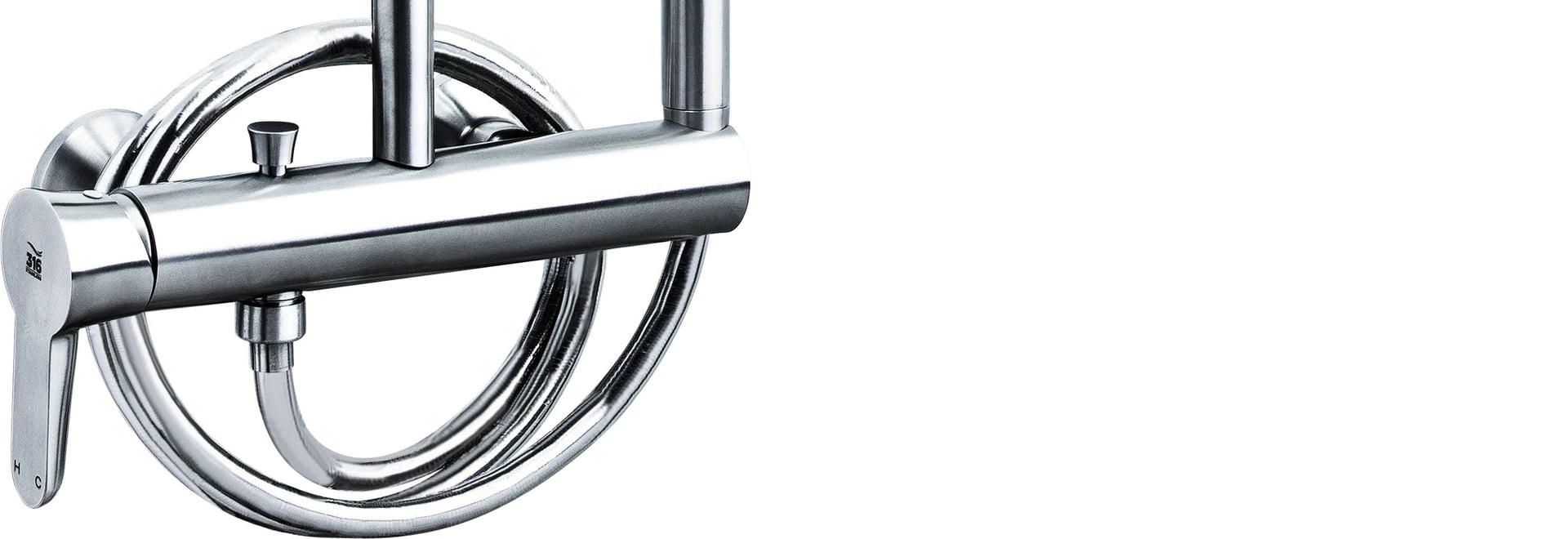 Stainless steel 316 marine grade showerset