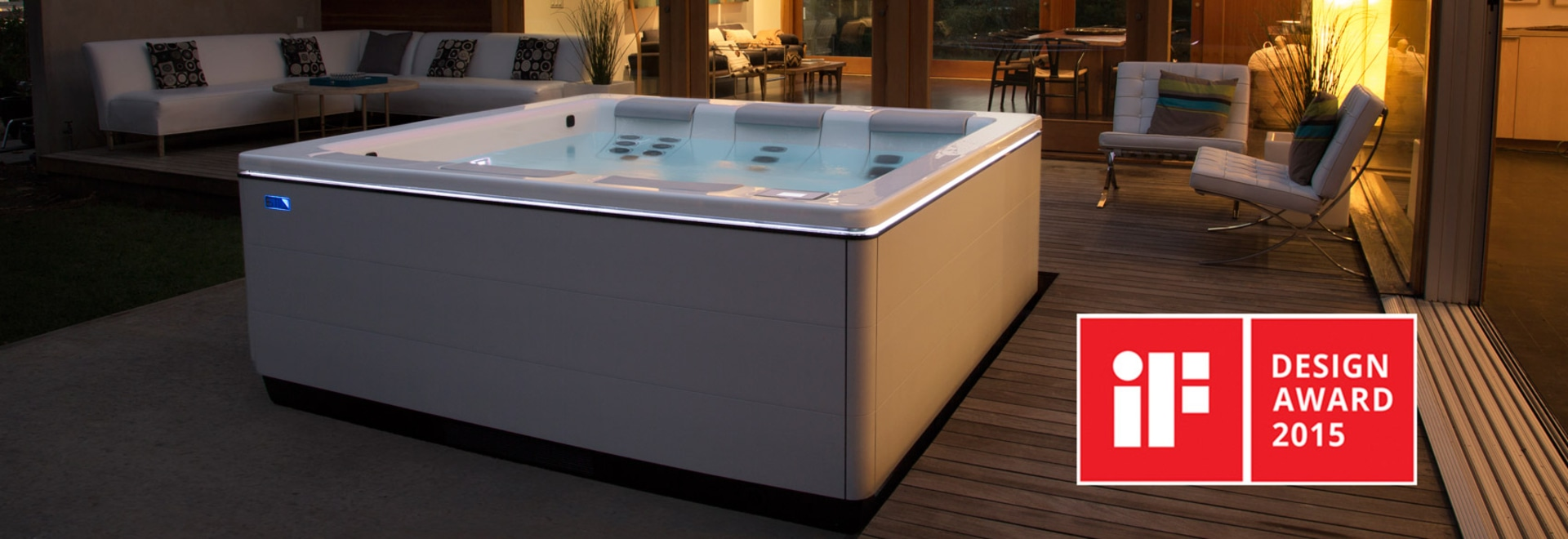 Stil A Modern Portable Hot Tub By Bullfrog Spas Wins If Design