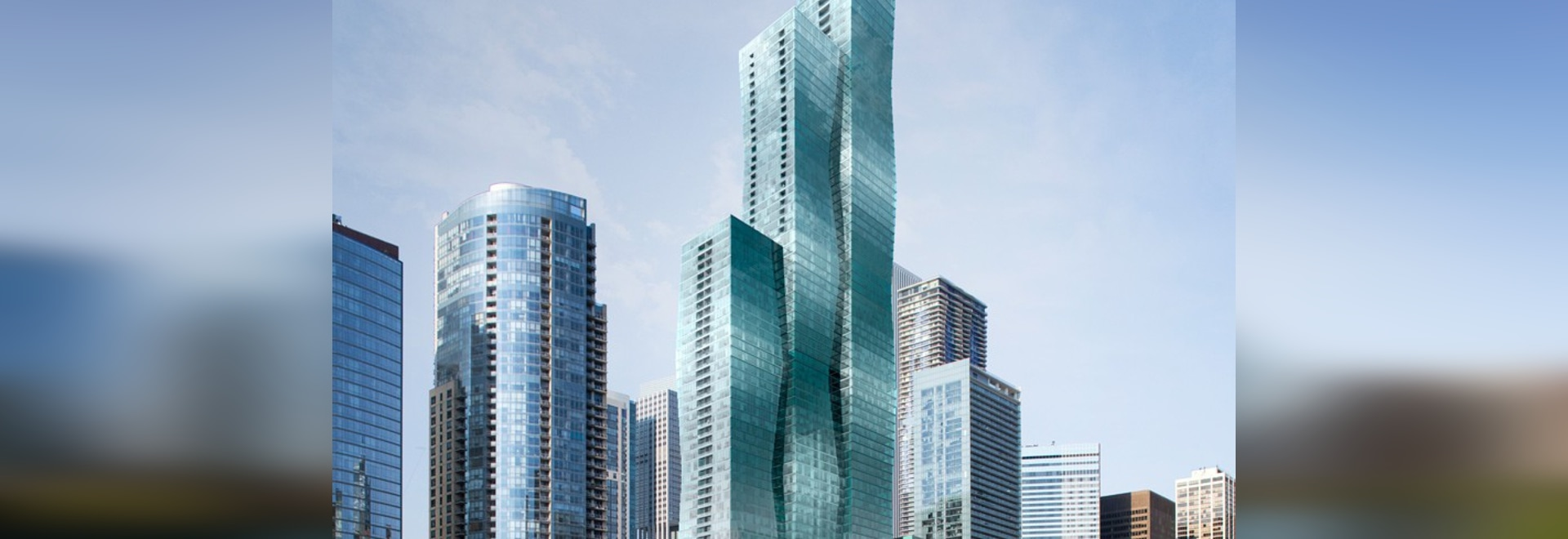 studio gang to establish luxury living in chicago with 95-storey vista tower