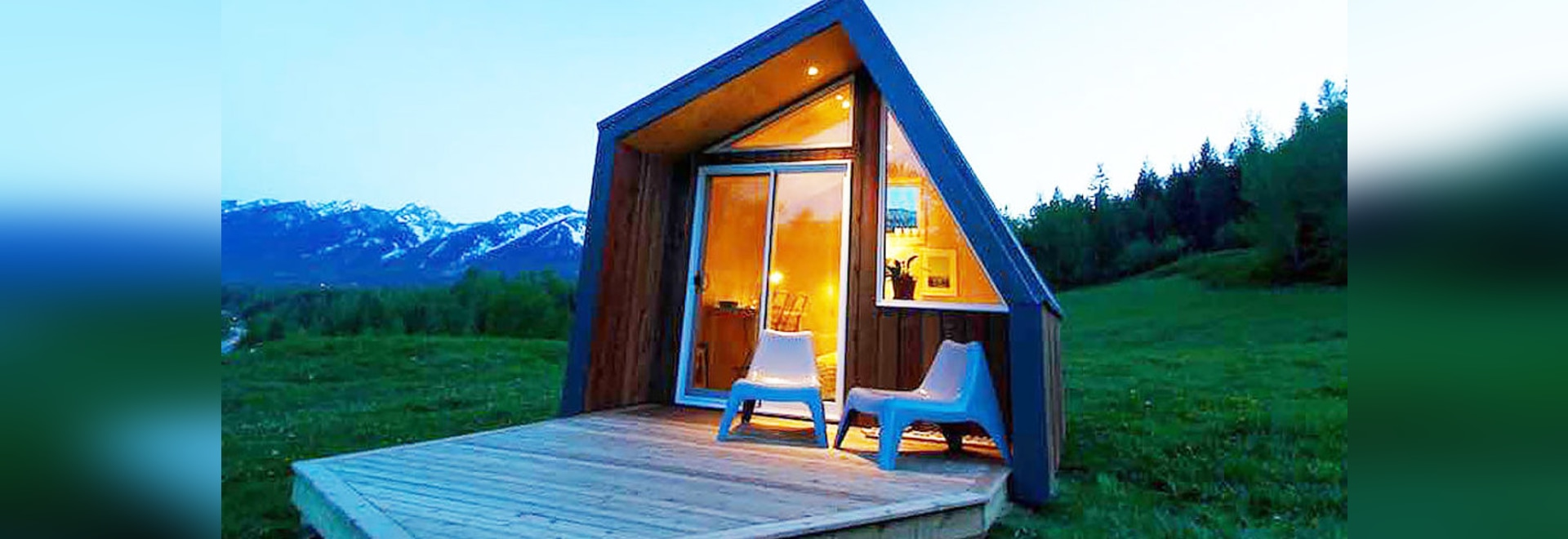 Sublime tiny cabins in British Columbia that can be installed within hours