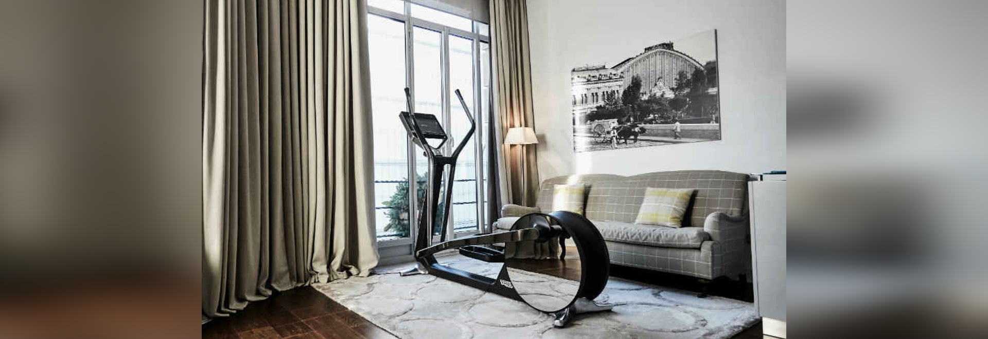Technogym design products at the event with ICON Design