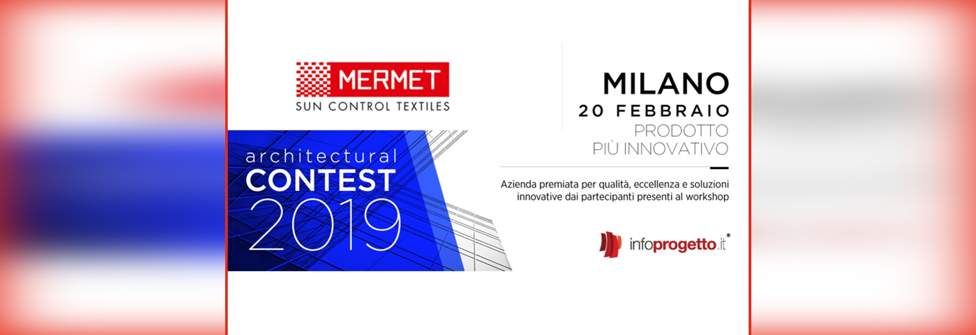 Textile innovation: the M-Screen Ultimetal® elected the most innovative product!