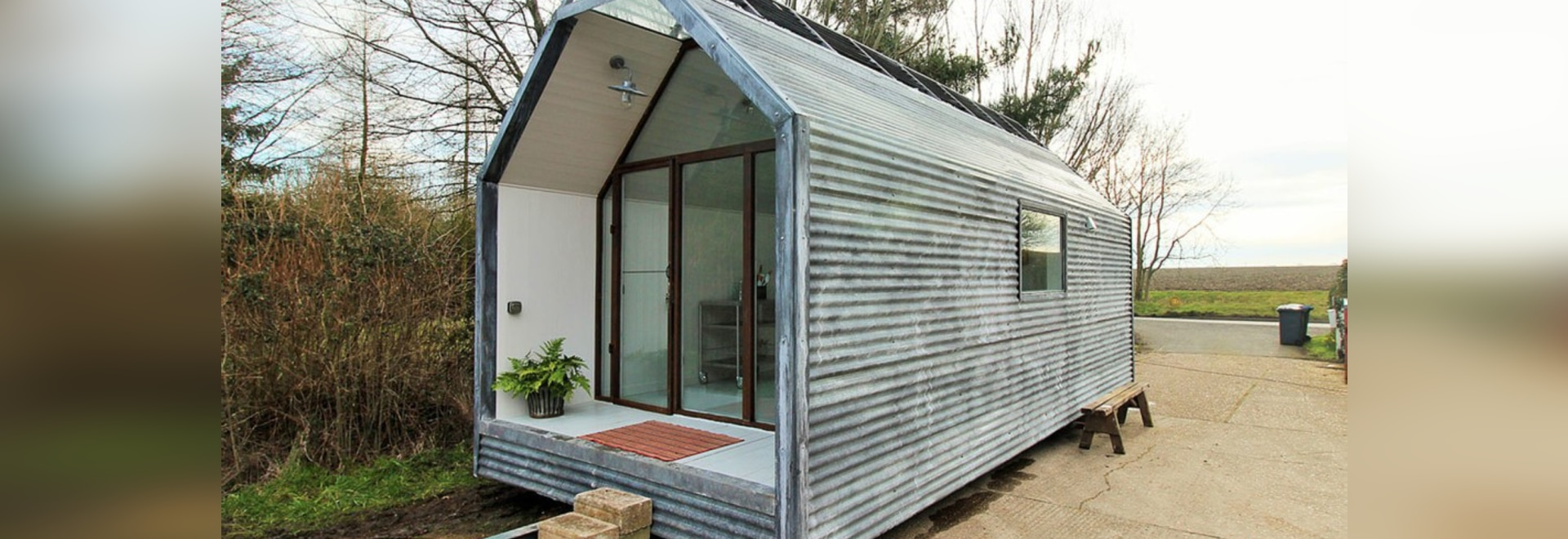 ^ hese amazing, affordable modern shepherd huts can be moved ...