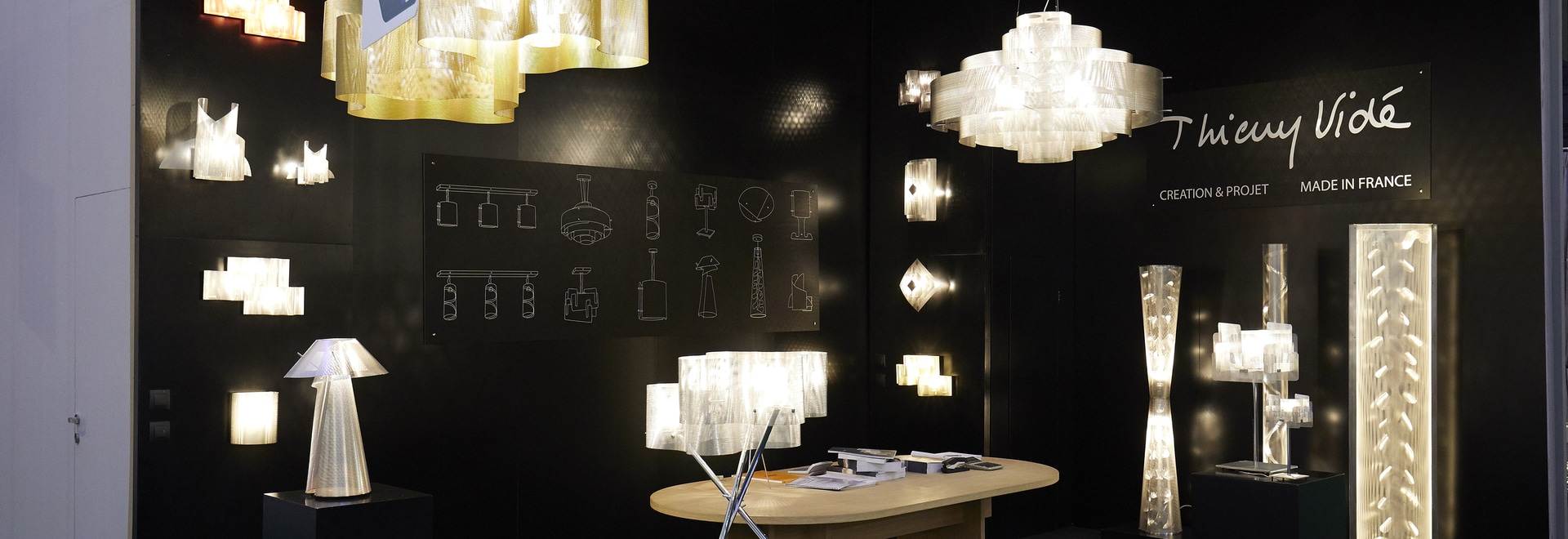 Thierry Vidé Design will be at Maison & Objet fair 19-23 january