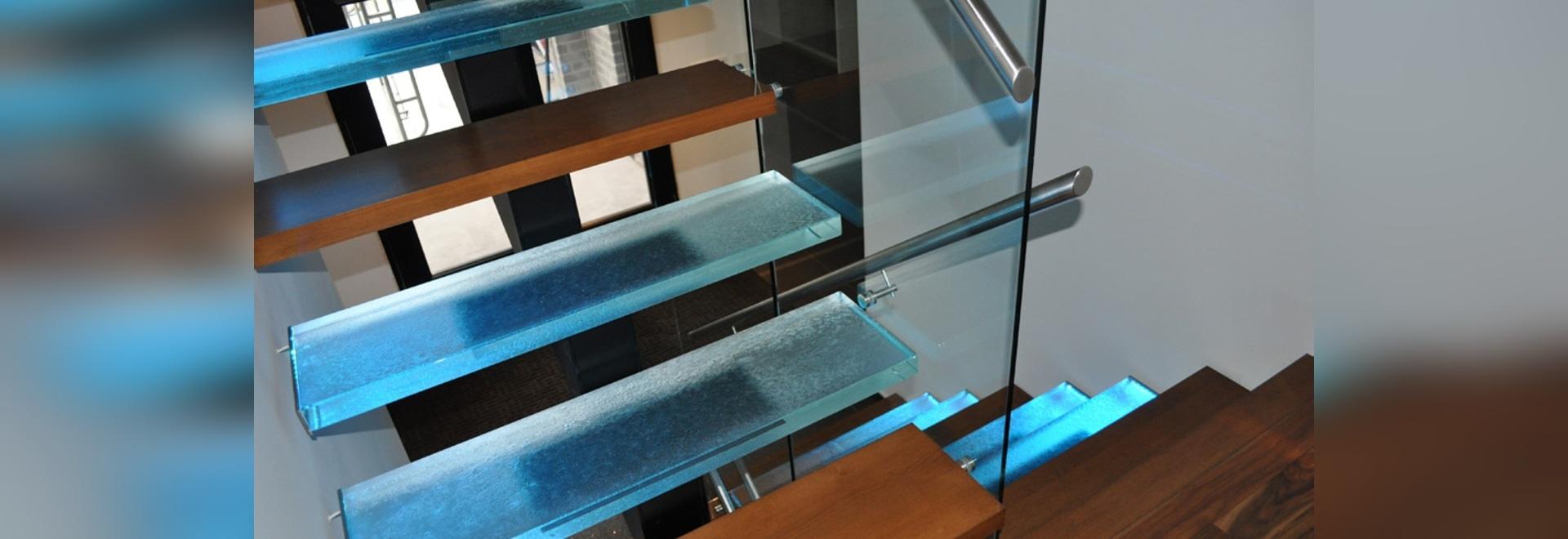 Thinkglass Glass treads