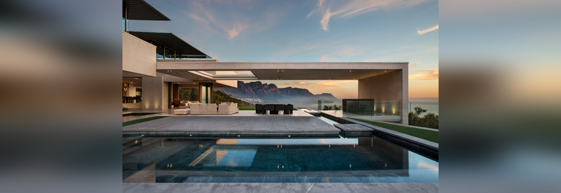 this home in cape town has 360 degree mountain and sea views
