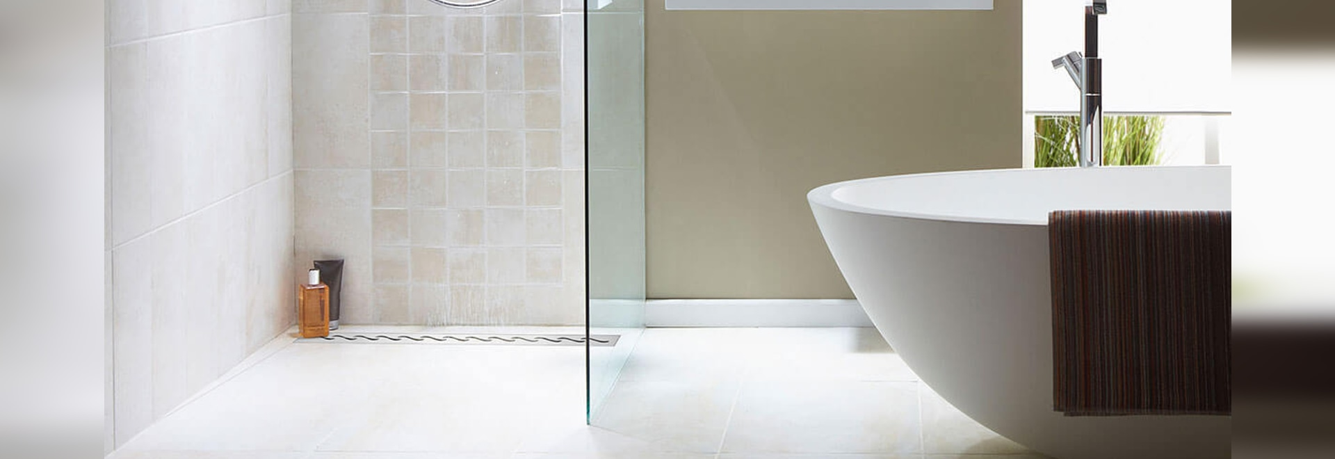 Trends in bathroom design: a curbless shower - Poland - JKB Group