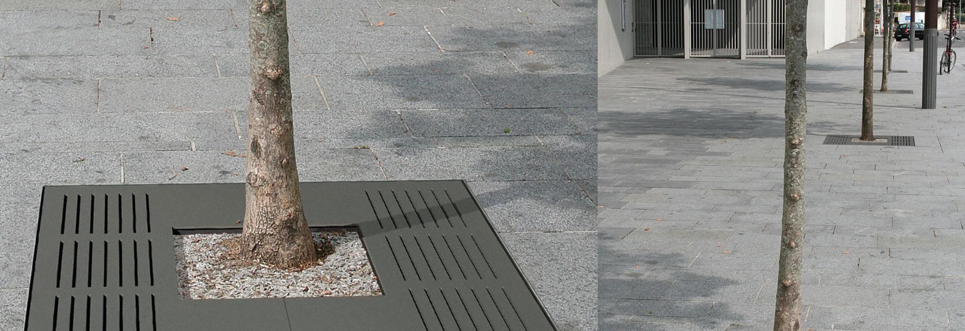 Tree grid AZIMUT 1200 x 1200