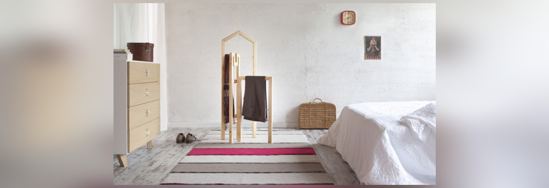 TUSCIAO CLOTHES VALET BY ANDREA BRUGNERA FOR FORMABILIO