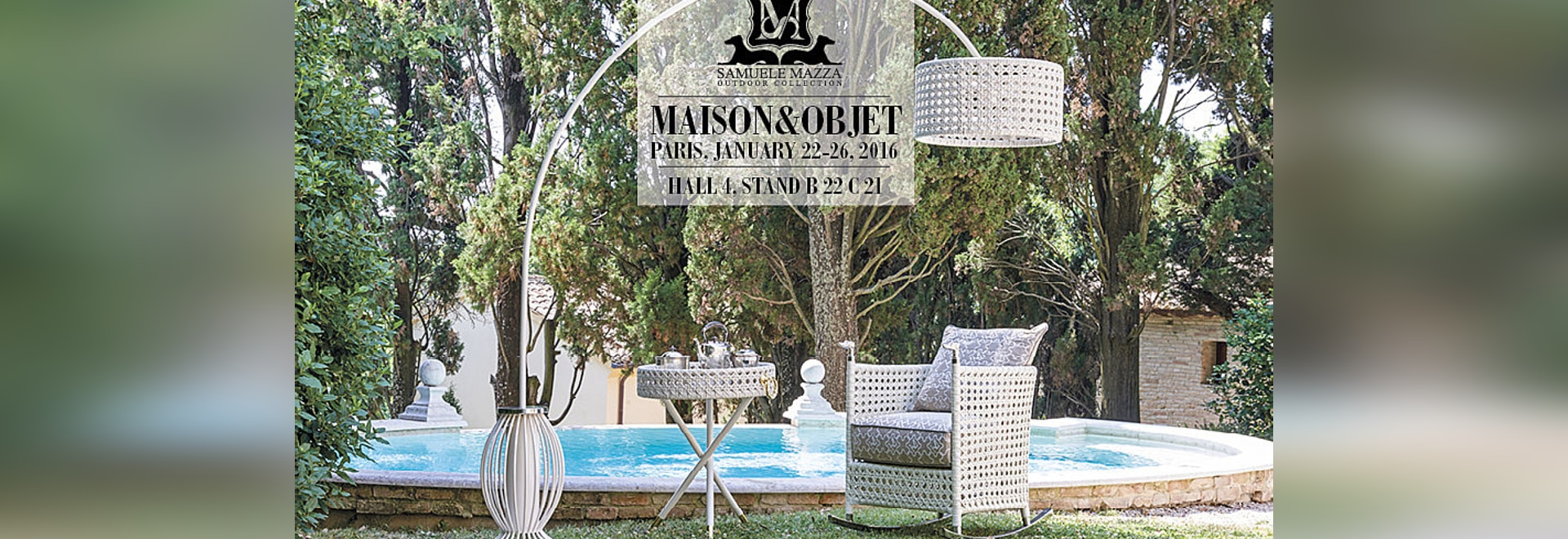 The Ultimate Luxury In Outdoor Furniture On Show In Paris