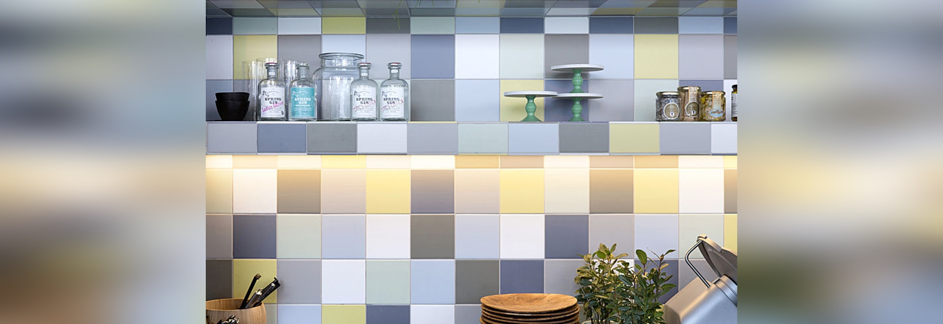Unique and innovative concept for authentic ceramic walls