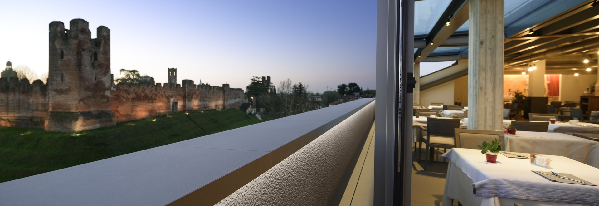 The versatility of Lapitec® for a hotel in Castelfranco Veneto