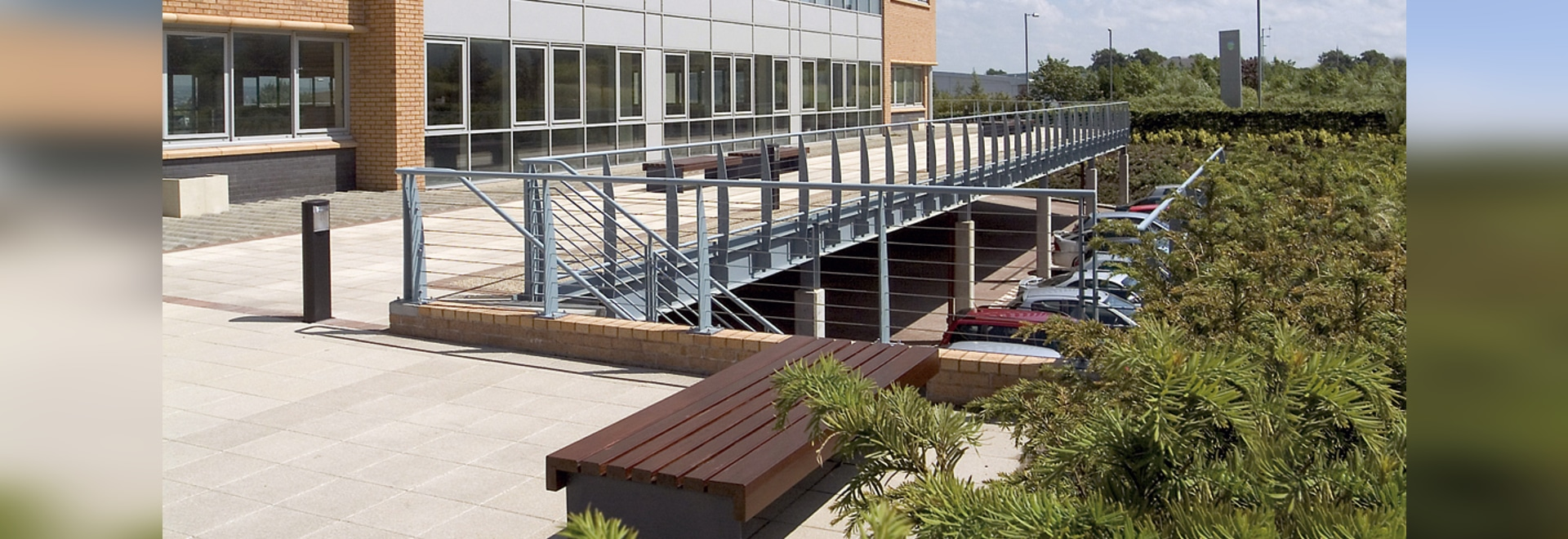 Walkways with Stabilodrain®