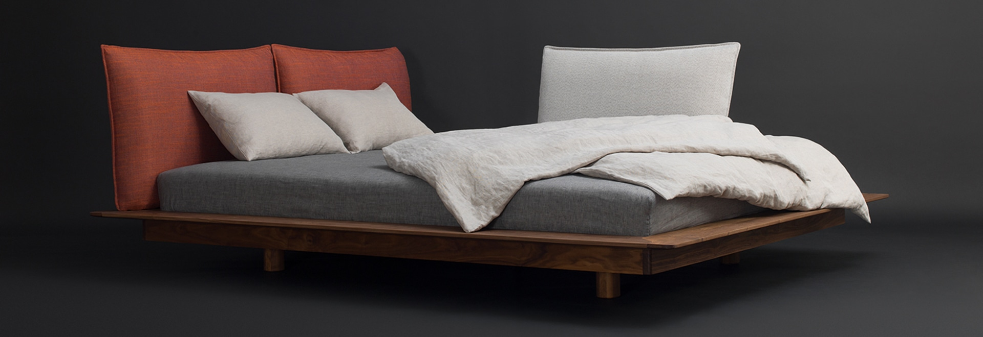 YOMA bed designed by Kaschkasch