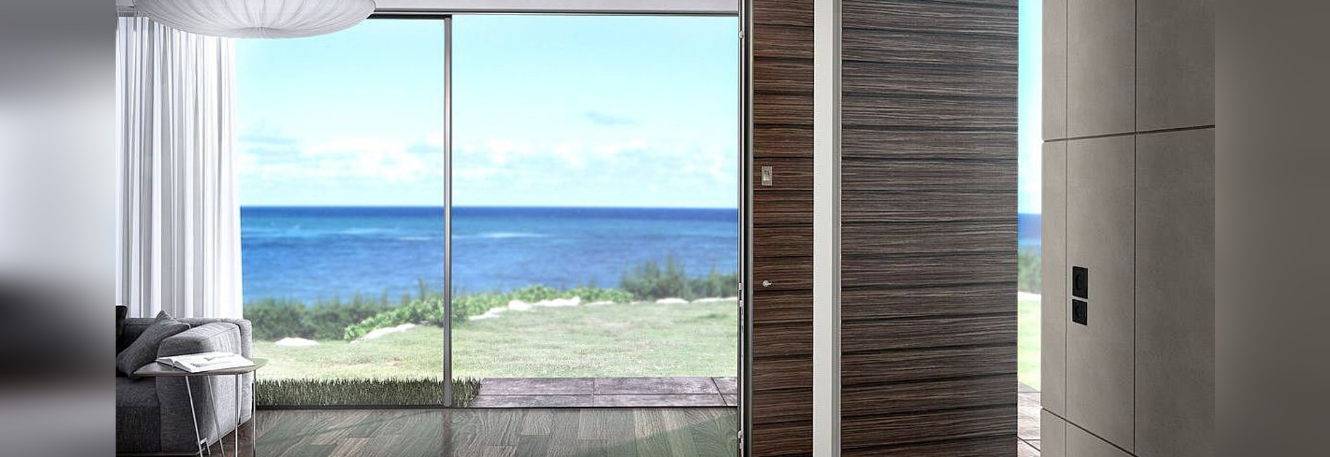 ZEN – ZEN Pivot: Aluminium Entrance Door Series create new horizons for modern residential and industrial design