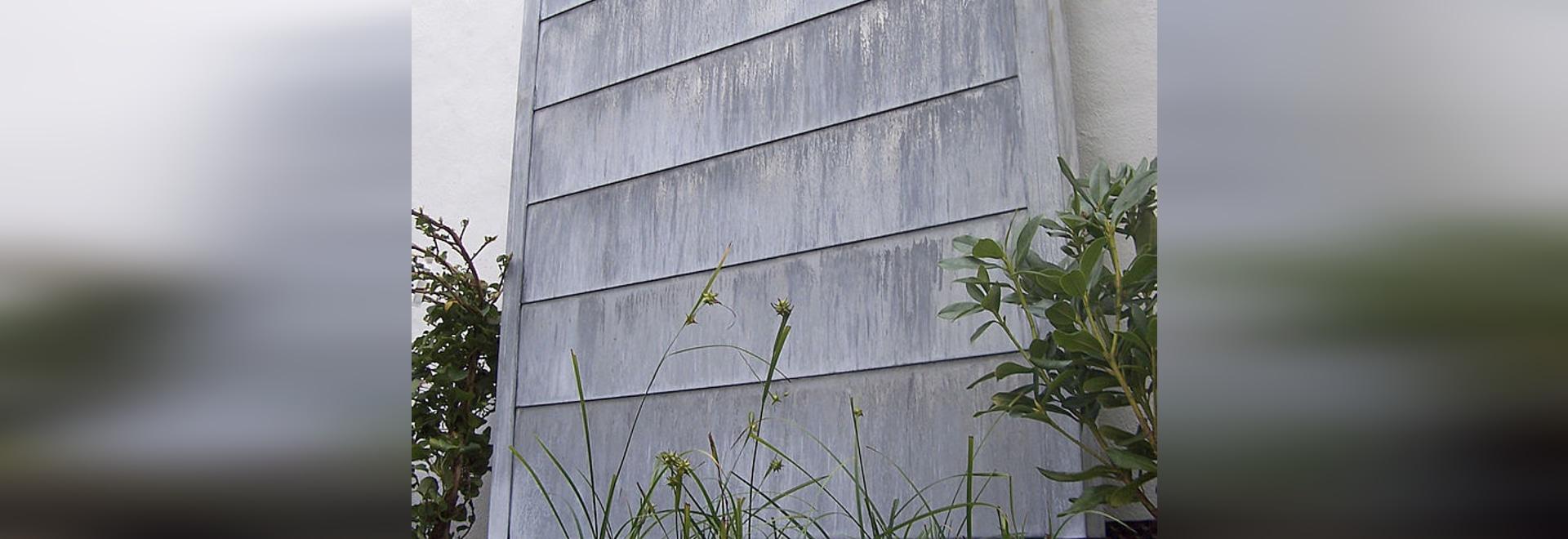 zinc fountain water wall