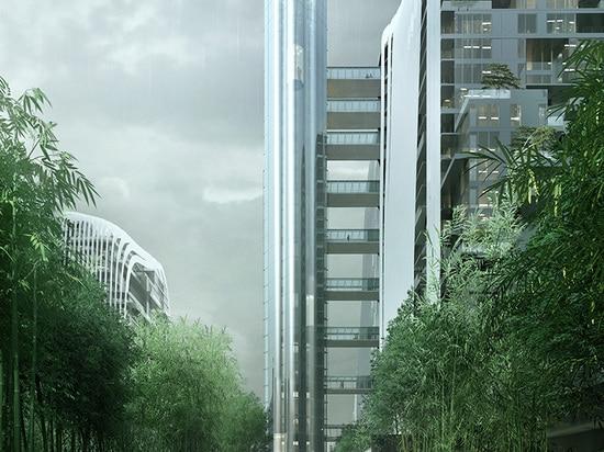 Nanjing Zendai Himalayas Center, a MAD Architects project