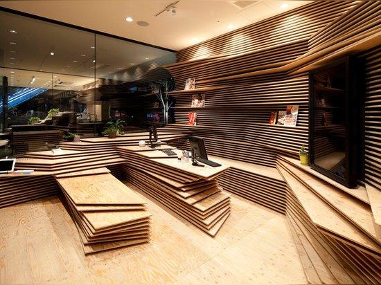 Shun*Shoku Lounge by Kengo Kuma and Associates