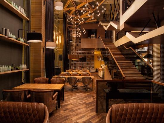 CAFE MOJO BY KAMITOV PROJECT ARCHITECTS