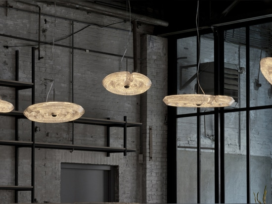 Fresnel Suspension Lamp by Dirk Vander Kooij