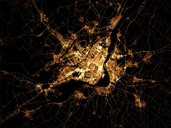 MARC KHACHFE NIGHT TIME IMAGES FROM SPACE