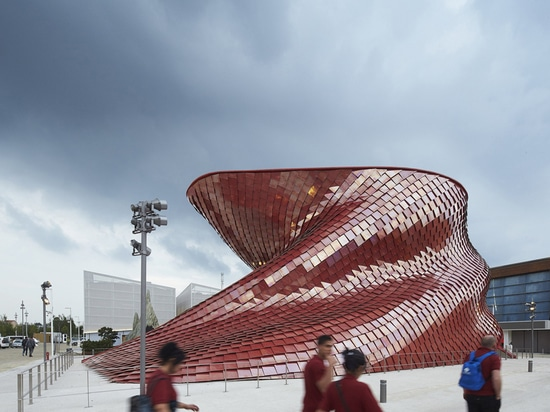 HUFTON+CROW CAPTURES DANIEL LIBESKIND'S VANKE PAVILION AT THE MILAN EXPO 2015