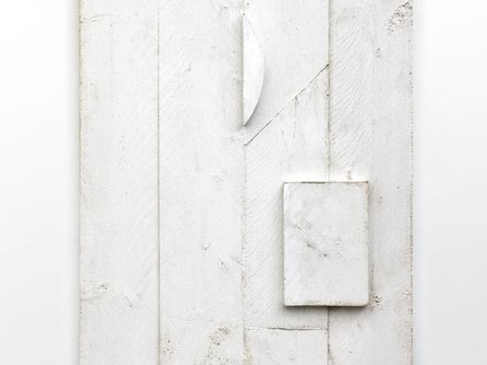 Untitled, 2014 (plaster 60 x 80 x 5 cm)