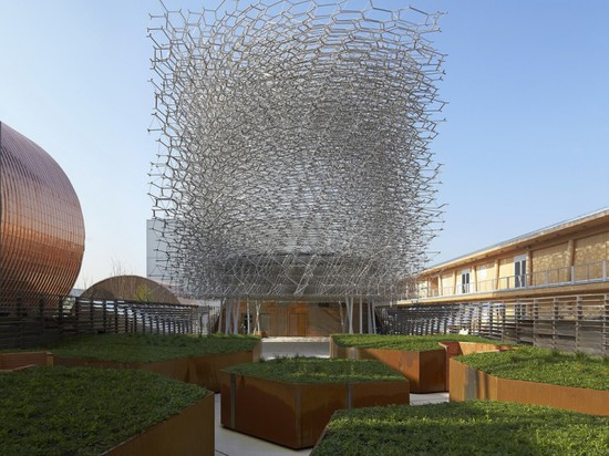 WOLFGANG BUTTRESS FINISHES UK PAVILION FOR MILAN EXPO