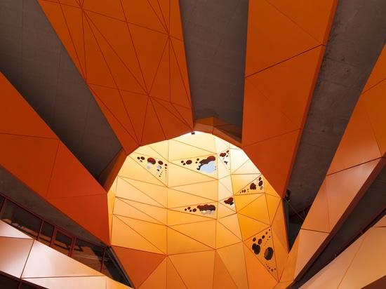 Orange Cube by Jakob + MacFarlane, Lyon (France), 2010, Image © Nicolas Borel