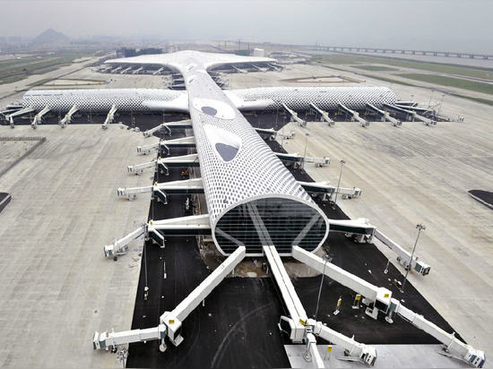 Shenzhen Bao'An International Airport in Shenzhen, China (2013)