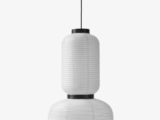 east meets west in jaime hayon's delicate formakami lamps for &tradition
