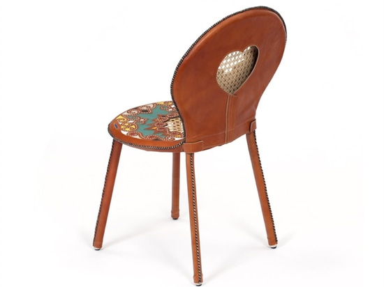 each piece is unique and has been made in collaboration with master craftsman espedito seleiro