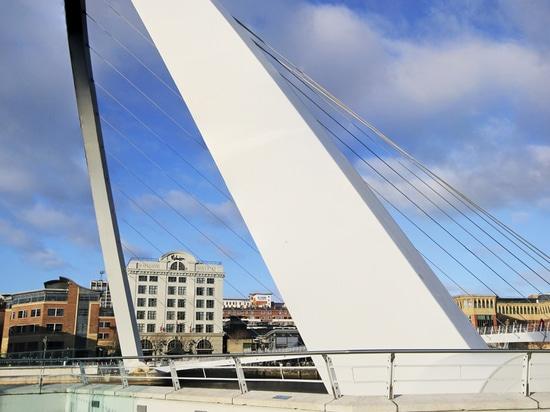 Dezeen's A-Zdvent calendar: Gateshead Millennium Bridge by Wilkinson Eyre