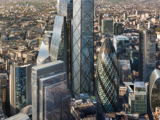 Eric Parry Architects unveils tallest tower in City of London