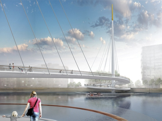 "Bystrup triumphs in Nine Elms to Pimlico bridge contest with ""elegant and simple"" design"