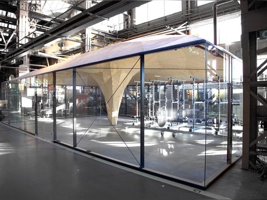"Studio RAP completes ""first robotically fabricated building in the Netherlands"""
