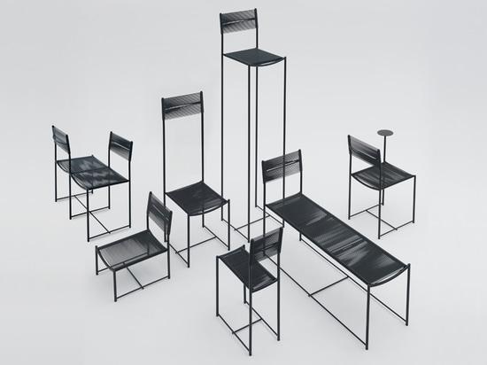 alfredo häberli celebrates giandomenico belotti with limited edition spaghetti chair for alias
