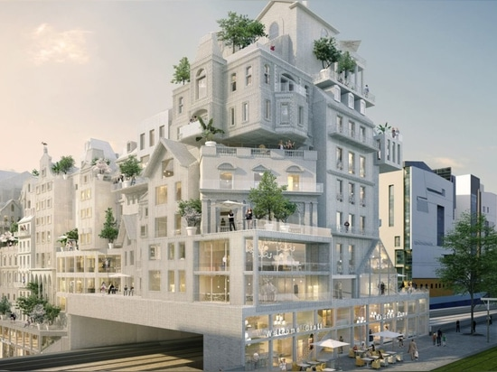 """Périphériques' affordable housing proposal reinvents Paris through """"crowd building"""""""