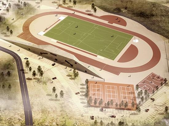 stadium area