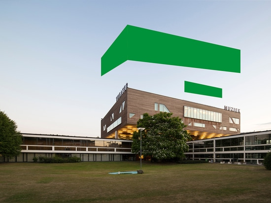 The original campus in Antwerp was designed by architect Léon Stynen in the 60s and 70s, and a new, idiosyncratic building by Stéphane Beel was added in 2010