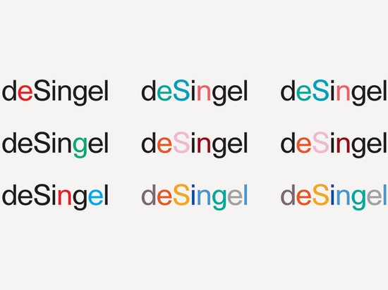If the colour scheme looks random, that's because it is - DeSingel's internal design team have free-reign to pick whichever colour fits best with the individual artist being advertised