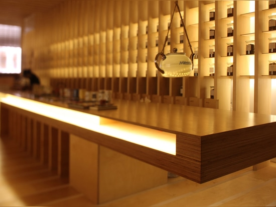 The Japanese-inspired location stocks around 500 flavours of tea