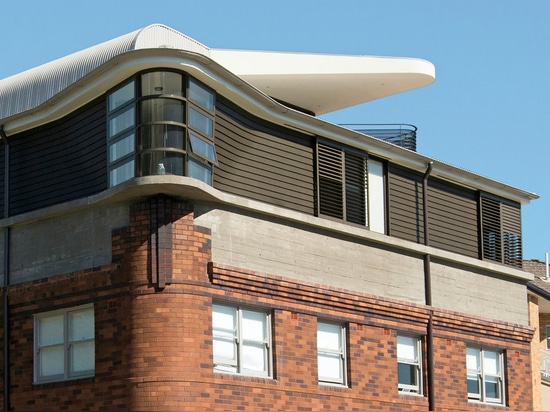 Luigi Rosselli Architects, The Bow Window Penthouse, Bondi Beach, Sydney, Australia