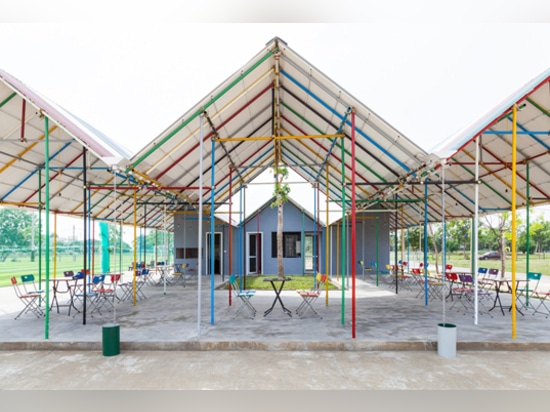 Re-ainbow is a colorful center for a climate change impacted community in Vietnam
